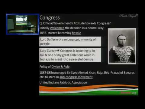 Lecture on Moderates in Indian Struggle for Independence