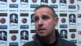 Dave Robertson On FA Youth Cup Fixture