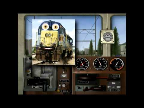 How to Drive Diesel Train Engine for Kids | Animated Train Learning Video for Children
