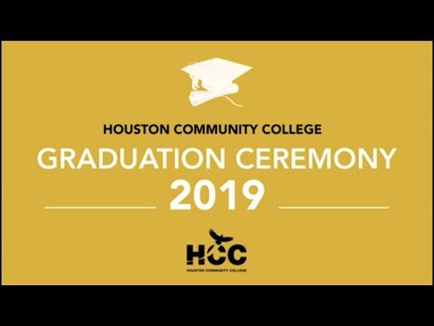 Houston Community College (HCC) 2019 Graduation - Morning Ceremony