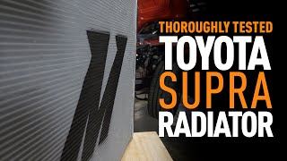 homepage tile video photo for Thoroughly Tested: 2020+ Toyota Supra Radiator