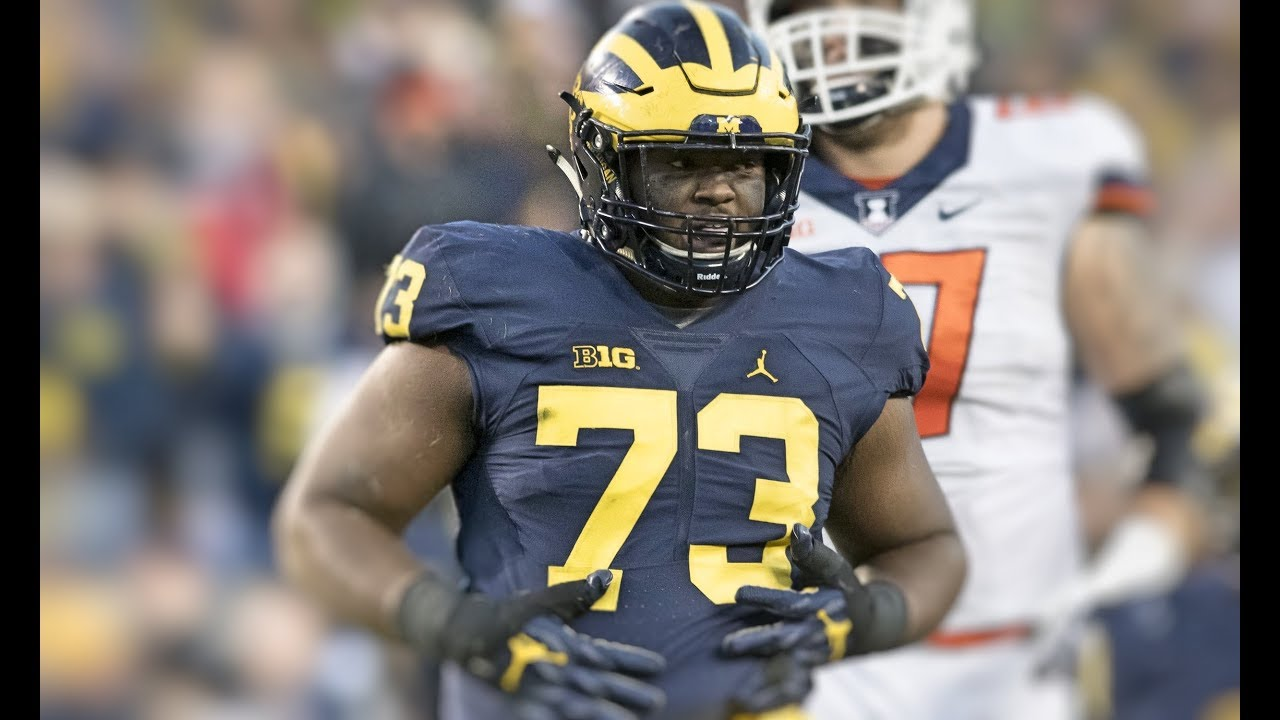 efa2b776c Michigan DL Maurice Hurst