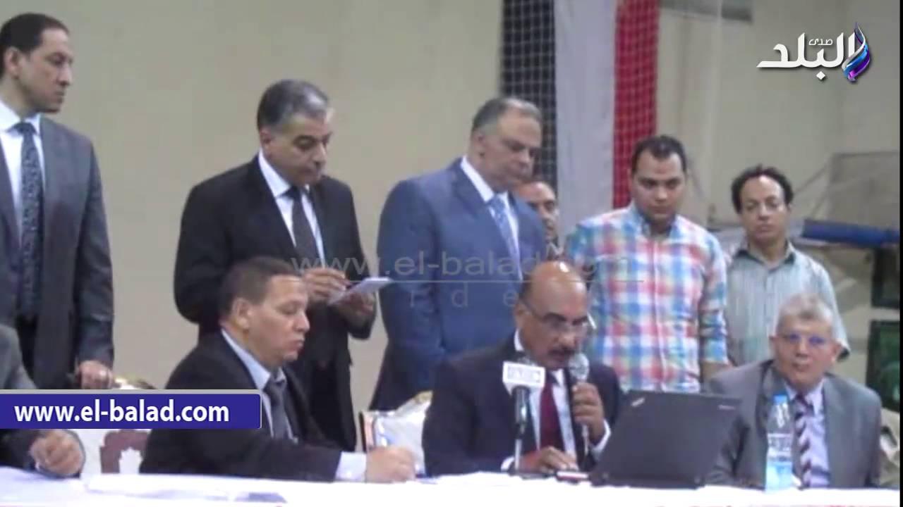 صدى البلد |  أعلان نتيجة انتخابات البرلمان بدائرة مركز الفيوم بالارقام