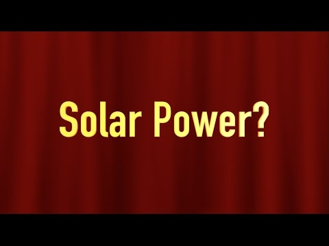 All About STEP #6: STEP Uses Solar Power?
