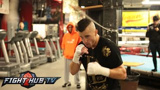 David Lemieux Vs. Gabe Rosado - Full Video- Lemieux Media Workout