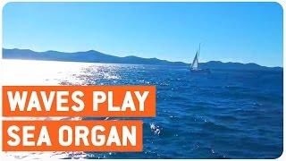 Waves Create Music | Sea Organ