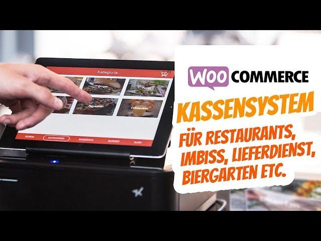 WooCommerce Kasse für Restaurant Imbiss Lieferservice Biergarten