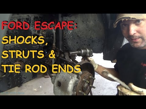 Ford Escape: Front Struts - Rear Shocks & Outer Tie Rods