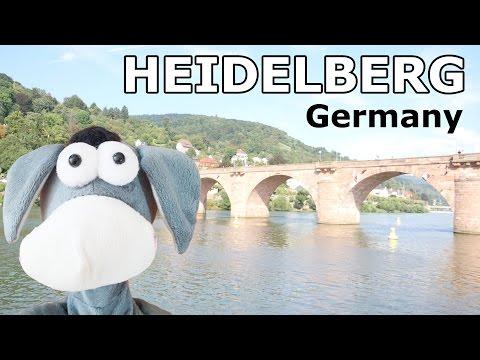 Heidelberg Germany Sightseeing Donkey World Trip Vlog 2