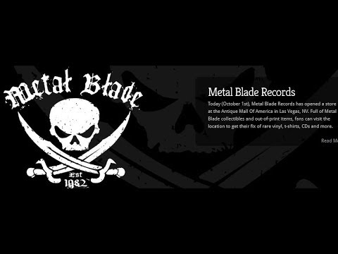 Metal Blade Records opens store in Las Vegas, NV rare items now for sale!