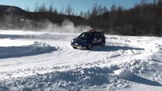 パリダカの「シノケン」こと篠塚建次郎が雪道のドライビングテクニック...