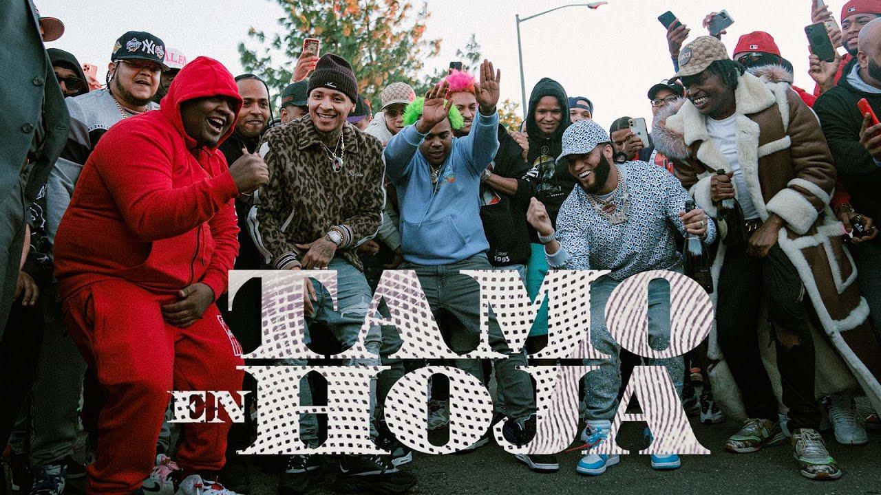 "Download El Alfa ""El Jefe"" x Dowba Montana x MarkB - Tamo En Hoja (Video Oficial)"