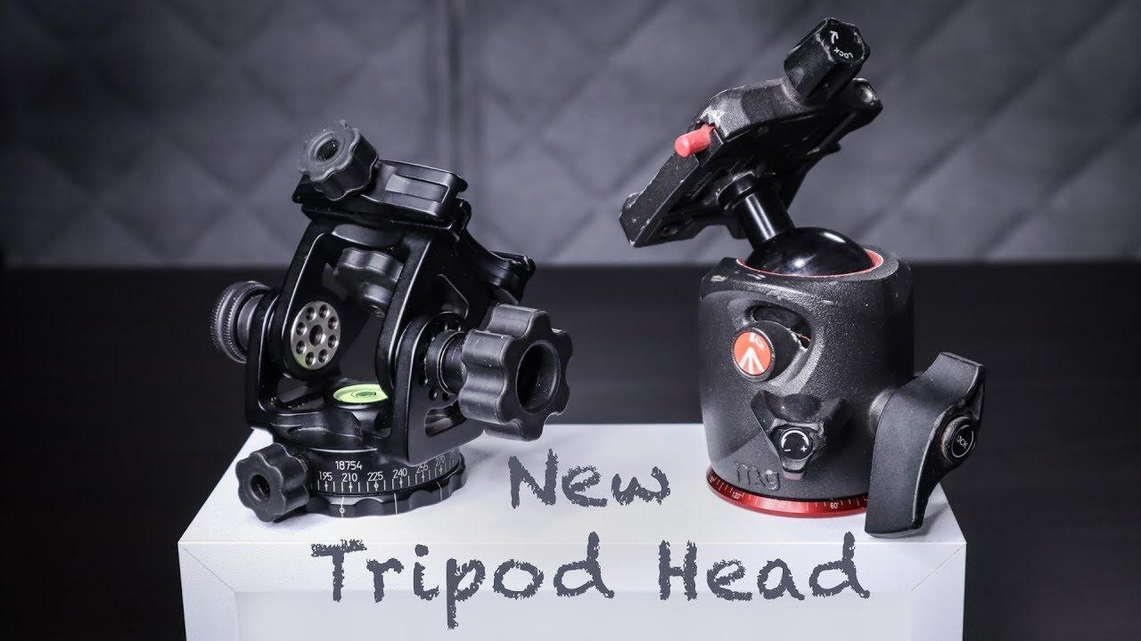Tripod Ball Heads, Lightweight Travel Photography Gear