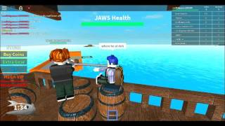 MEGALODON!!!!!!!!! Roblox jaws