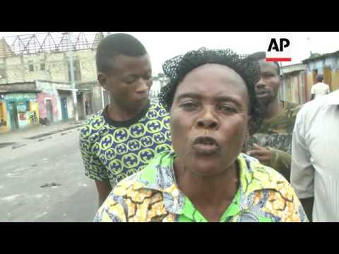 Uneasy calm in Kinshasa after day of clashes