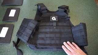 Tactical Scorpion AR500 steel + Condor MOPC = $185 body armor set!