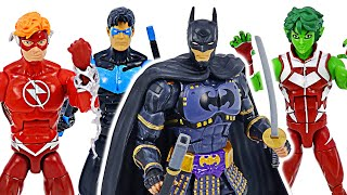 DC Multiverse Ninja Batman appeared! Nightwing, Flash! Come on! | DuDuPopTOY