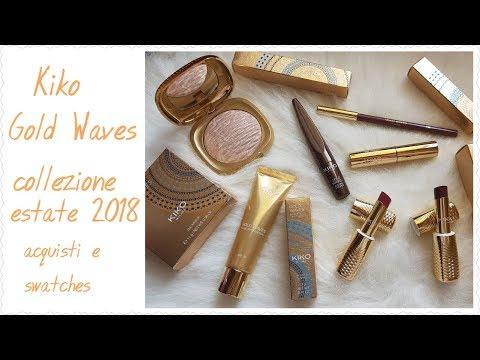 Kiko Gold Waves collezione estate 2018 - acquisti e prime impressioni || laeliz80