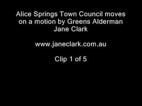 1 of 5 Alice Springs Town Council Uranium Exploration motion