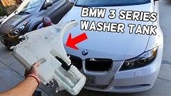 WINDSHIELD WASHER RESERVOIR TANK REPLACEMENT BMW E90 E91 E92 E93
