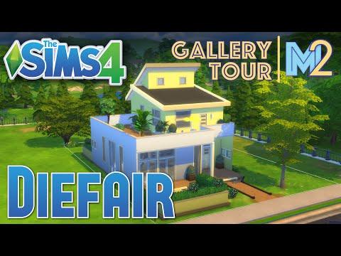 The Sims 4 House Tour - Modern Sunshine by Diefair (Gallery Invite)