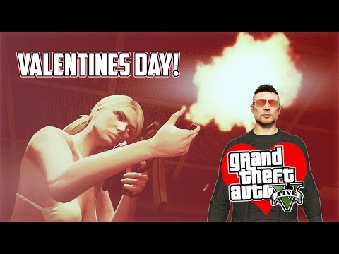 GTA 5 VALENTINE'S DAY 2015 SPECIAL! GTA 5 Online PS4 Gameplay