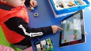 Gambar cover Volcano Alert-1 (Dima) Antalya Robotik Kodlama Atölyesi Lego Wedo 2.0