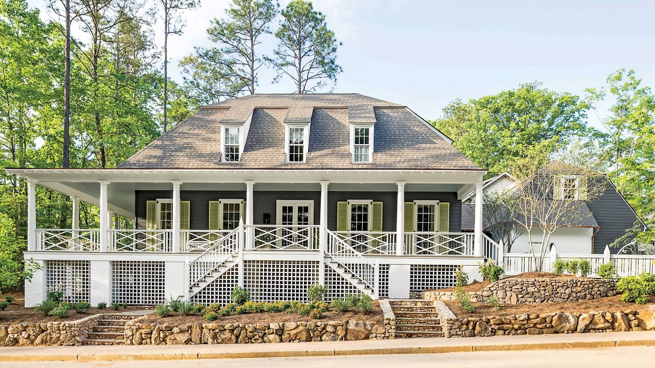 Live at southern living welcome to our 2016 idea house for Tk homes floor plans
