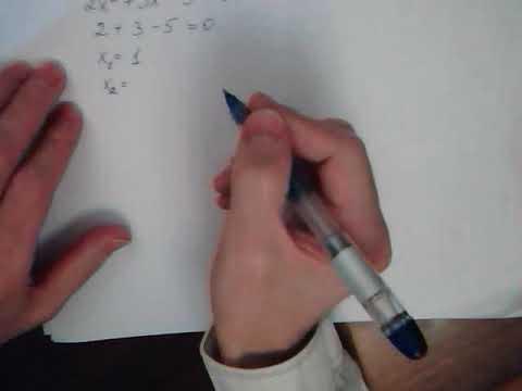 Как решить квадратное уравнение Уроки репетитора Математика онлайн