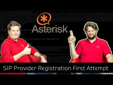 Asterisk Tutorial 43 - SIP Provider Registration The First Attempt [english]