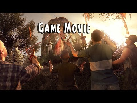 Dying Light: The Following All Cutscenes (Game Movie)