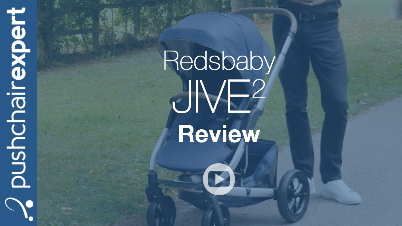 da68696130089 Redsbaby JIVE 2 Review - Pushchair Expert - Up Close - YouTube