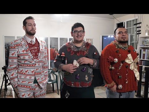 Ugly Christmas Sweater Contest: Battle of the Tackiest! | Minute to Win It Gamers