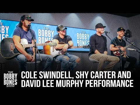 Shy Carter, Cole Swindell, & David Lee Murphy Perform Their Own Songs