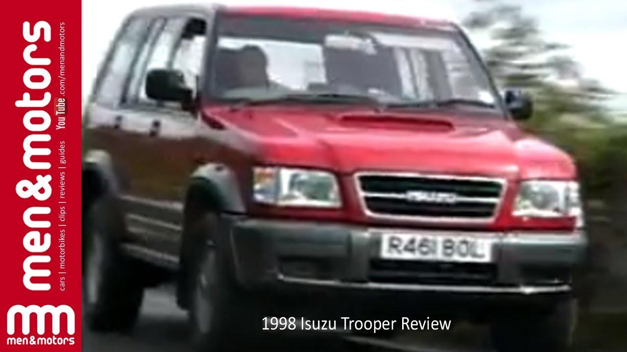 1998 Isuzu Trooper Review   YouTube