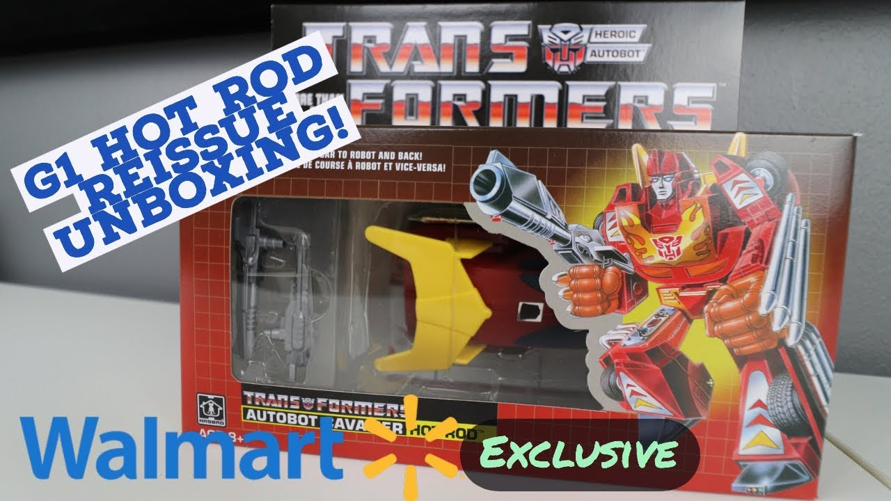 Hot Rod G1 transformers Reissue Walmart Exclusive