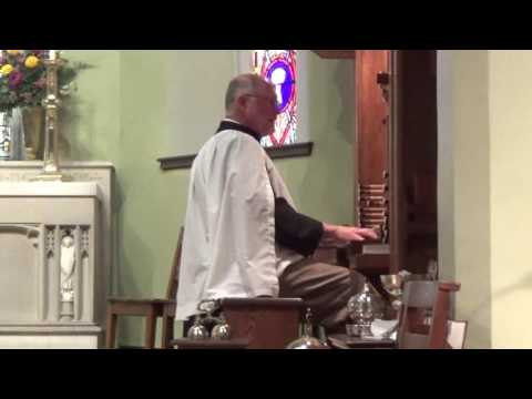 "Grace Church Organ Postlude - Sept. 25, 2016 - ""Grand Chorus in B-flat Major"""