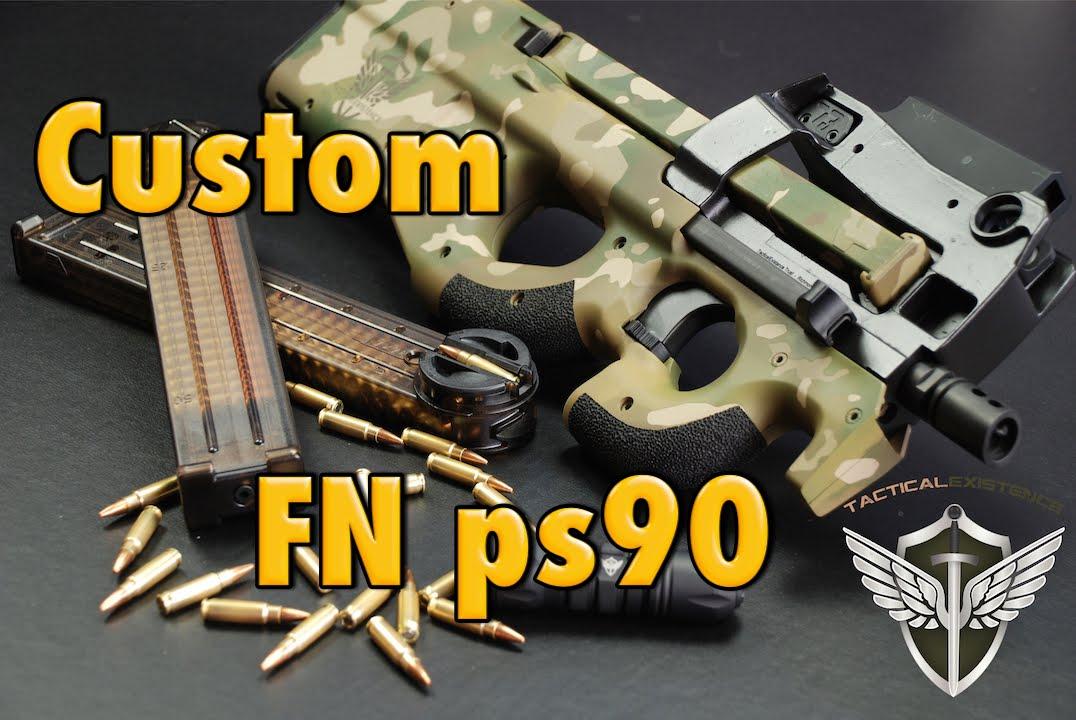 Custom Fn Ps90 Sbr Video Youtube