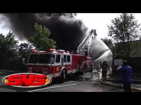 Junkyard Fire in West Babylon