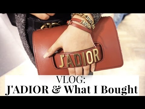 VLOG: J'ADIOR | What I Bought From Dior Spring 2017 Collection