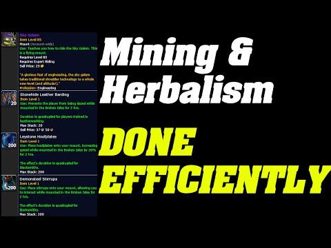 Legion : Mining & Herbing Done Efficiently   Tips & tricks  