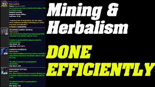 Legion : Mining & Herbing Done Efficiently | Tips & tricks |