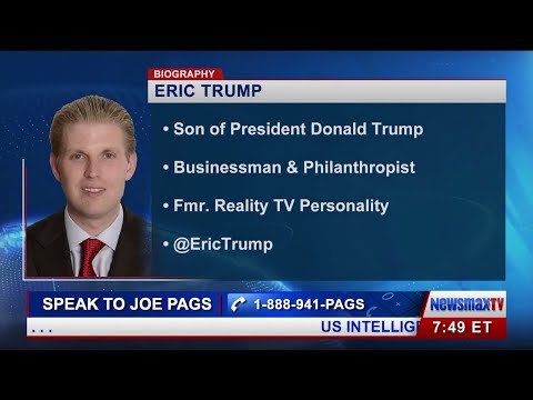 Eric Trump Talks about the Media and the Election