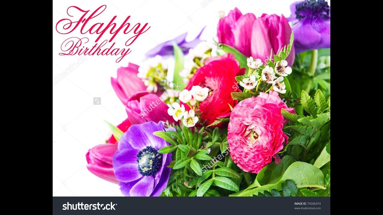 Happy birthday assorted roses youtube happy birthday assorted roses flower and gardening plus flower arrangement izmirmasajfo
