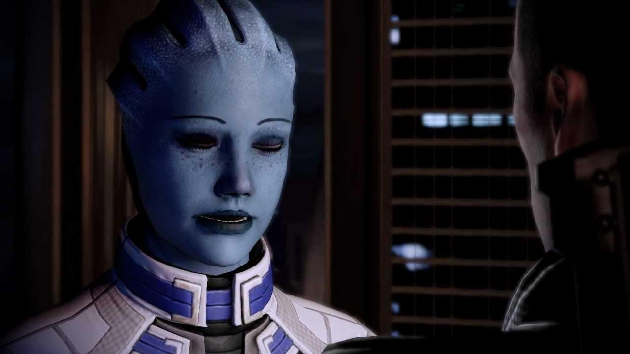 Mass Effect 2: Liara & M!Shep Romance: Lair of the Shadow