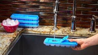 No Spill Ice Cube Trays!