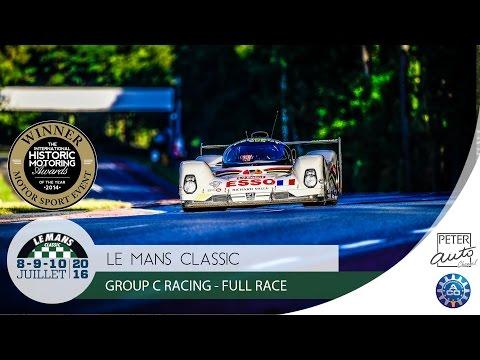 Le Mans Classic - Group C Racing - Course De Support