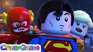 LEGO DC Super Villains Gameplay Walkthrough Part 1 (4K)   CRAZYGAMINGHUB