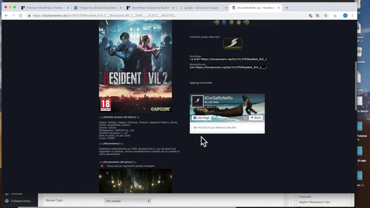 il corsaro nero download utorrent