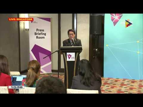 Press briefing ni DOLE Sec. Bello III sa Singapore